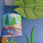 Spbedding's Black Bear Lodge Lamp as seen in a customer's room