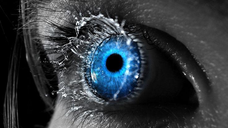 Color Splash Eyes   Close Up Eyes Splash Selective Coloring    Color Splash Eyes