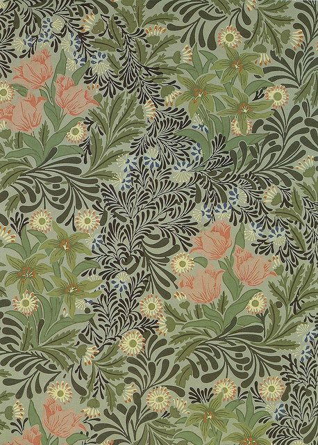 William Morris Wallpaper Patterns Pinterest
