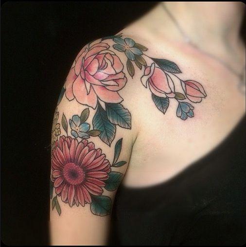 flower tattoo tattoo pinterest