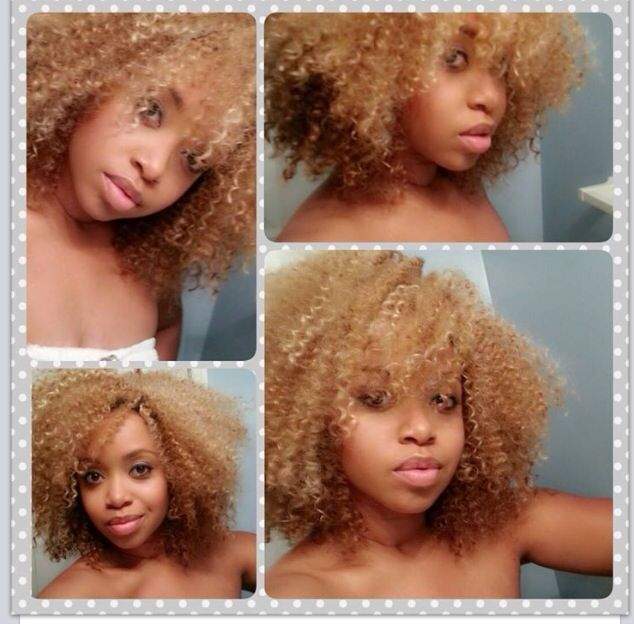 Crochet Hair Blonde : Crochet braids ~ Natural Hair Care: Crochet Braids ~ Pinterest