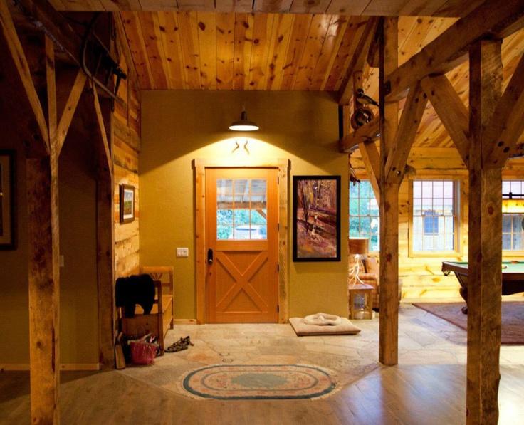 Barn Interior Barn House Ideas Pinterest