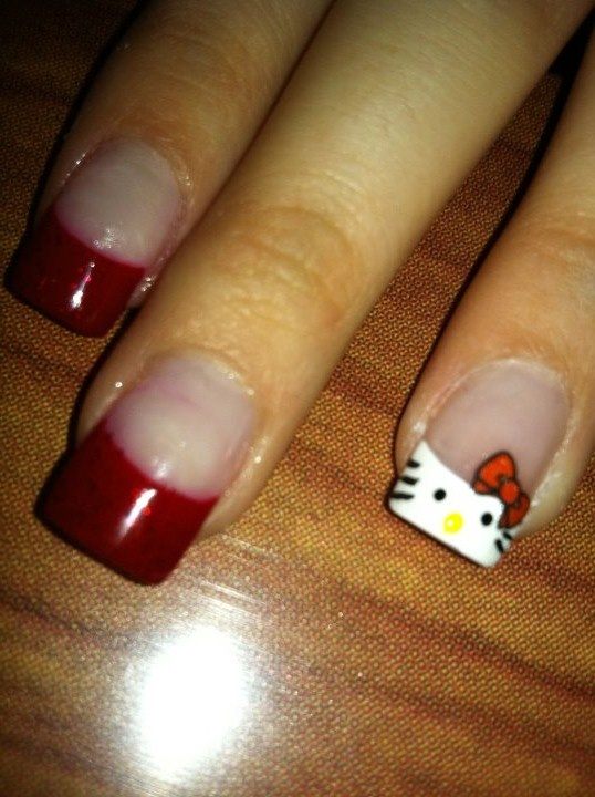 Hello Kitty french