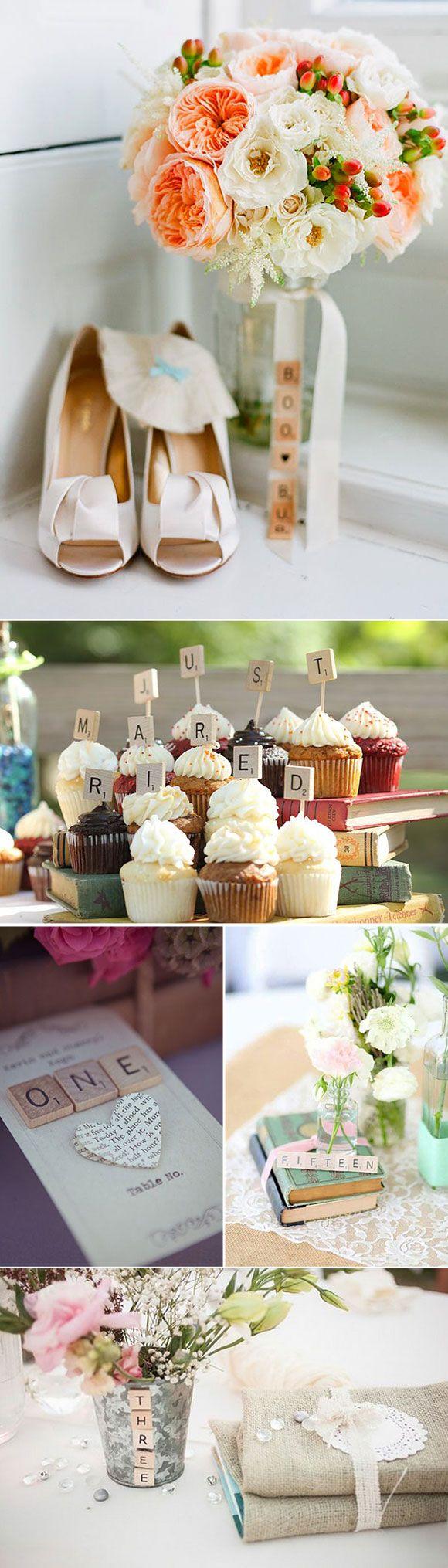 Letras De Decoracion Para Bodas ~ Letras de scrabble para decorar tu boda  Ideas Originales Decoraci?n