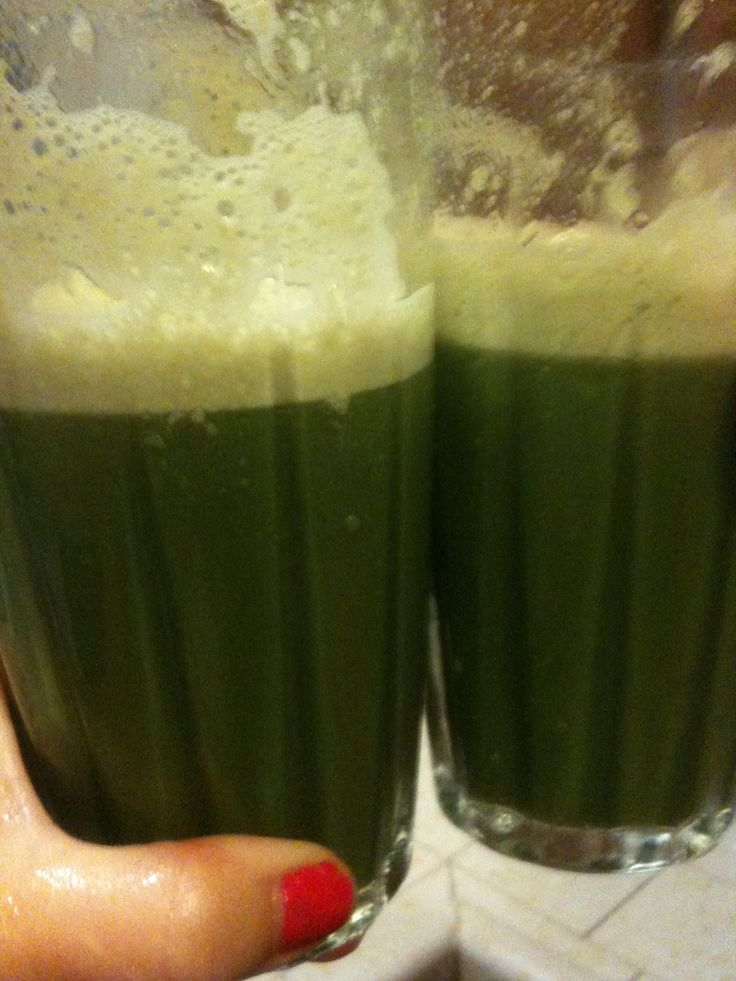 Green smoothie Recipe picture
