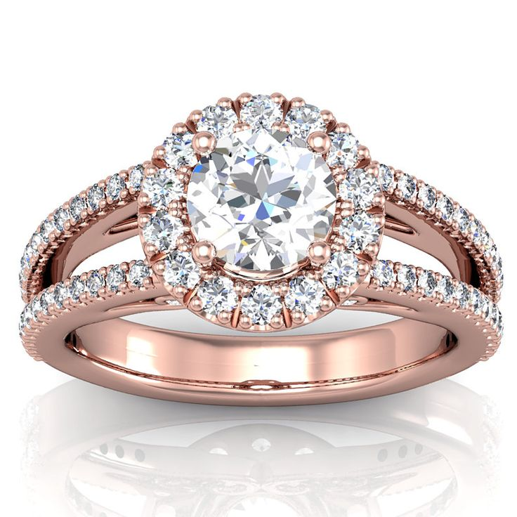 Rose Gold Ring Rose Gold Ring Setting ly
