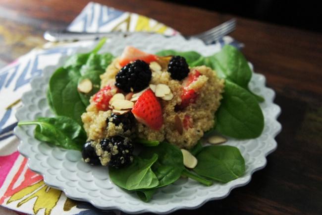 Quinoa Fruit Salad | Recipes and snacks | Pinterest