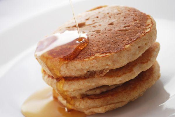 Whole-Wheat Lemon Ricotta Pancakes