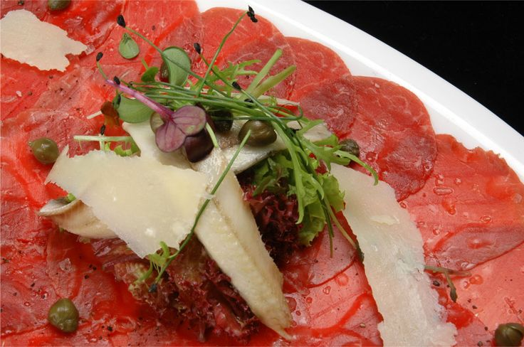 Beef Carpaccio | The Steakhouse KL | Pinterest