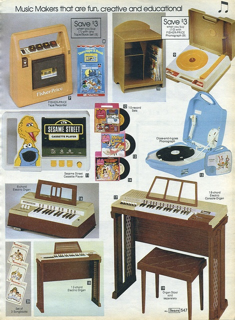 record player!