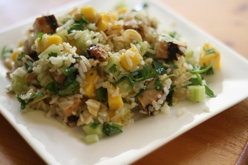 Mango-cucumber rice salad. It'll be tough to wait for summer to make ...