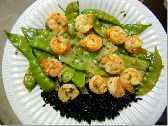 Shrimp & Snow Peas | Tasty Things | Pinterest