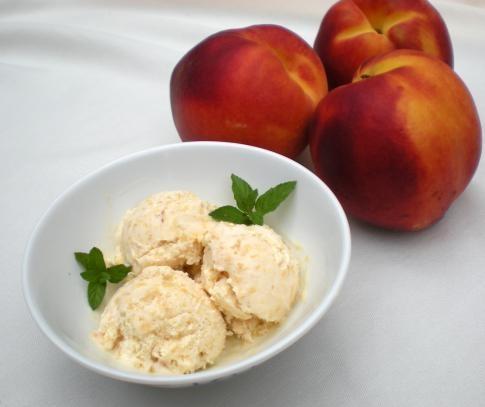 peaches and cream ice cream   Sweet Tooth   Pinterest