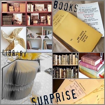 Some cute ideas for a bookworm party