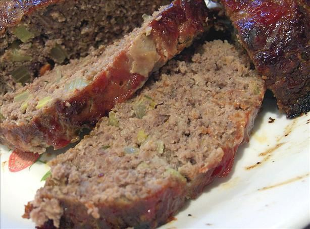 Buffalo Meatloaf With Brown Sugar and Ketchup Glaze | Barbies best ...