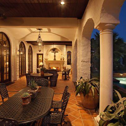 outdoor photos hacienda design home styles pinterest
