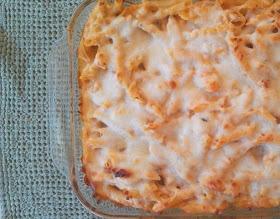 Three cheese chicken penne pasta bake | Yummo! | Pinterest