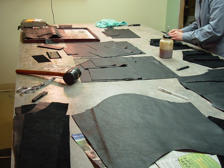 Making a leather jacket | Dena's Great Leather | Pinterest