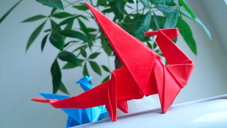 Как сделать бумажного дракона только из бумаги