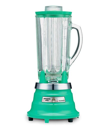 Green Retro Kitchen Blender