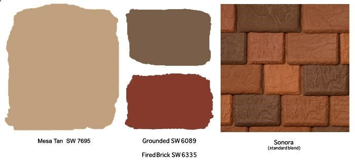 Southwestern Colors Schemes Sherwin Williams Color Scheme