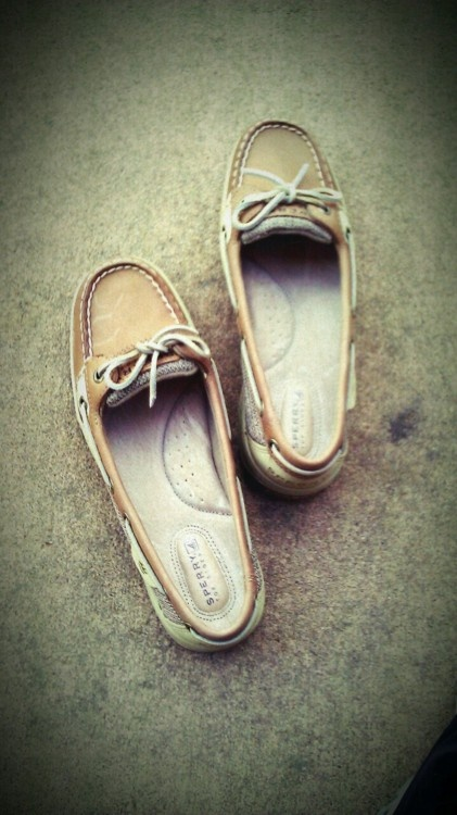 I love a good pair of sperrys