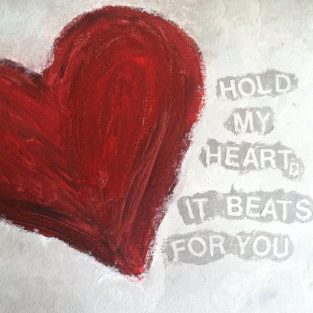 valentine's day paint crafts