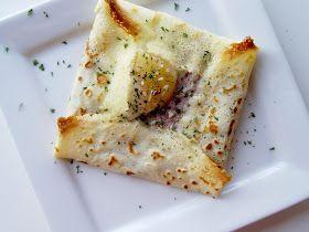 Ham and Egg Crepe Squares | Yummy | Pinterest