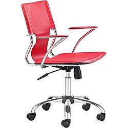 tristan rolling office chair red