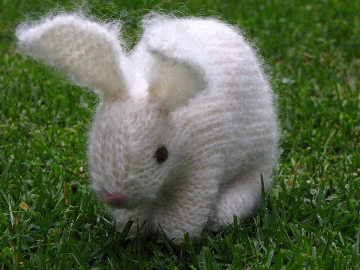 Arm Knit Rabbit Pattern : Easter bunny rabbit pattern knits pinterest