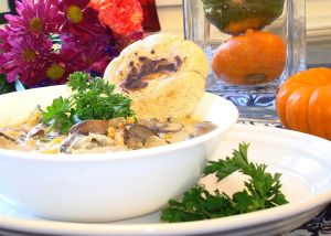 Turkey Pot Pie Soup with Masa Biscuits | Ways to Fill My Belly | Pint ...