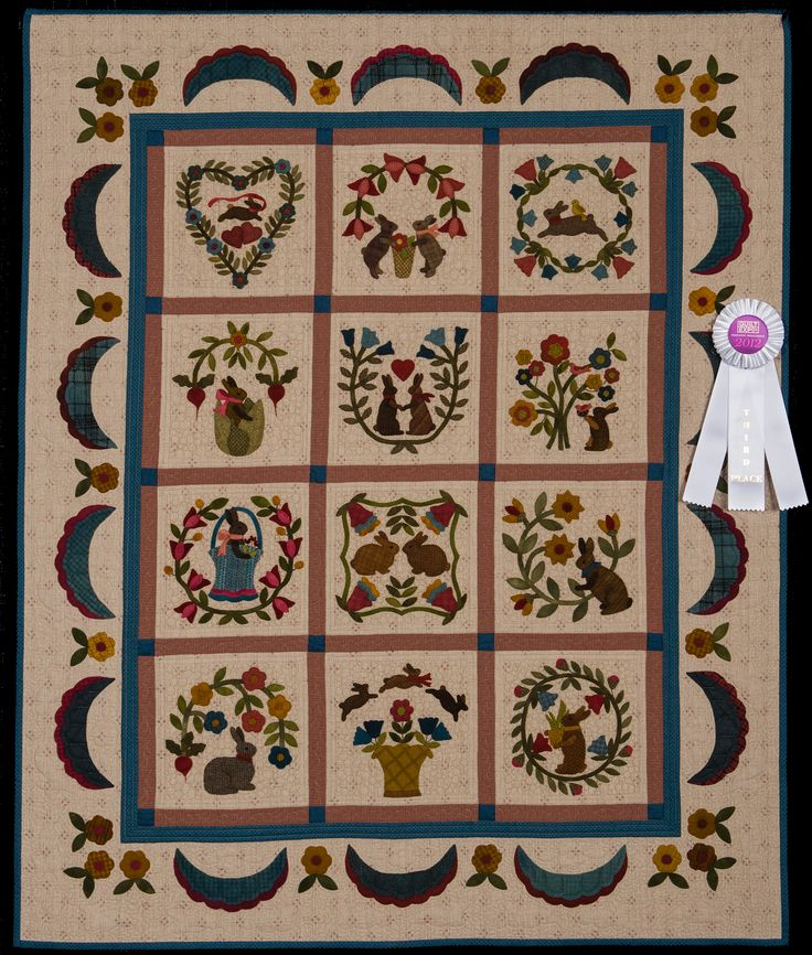 2012 Quilt Expo Quilt Contest, 3rd Place, Category 10, Wall Quilts ...