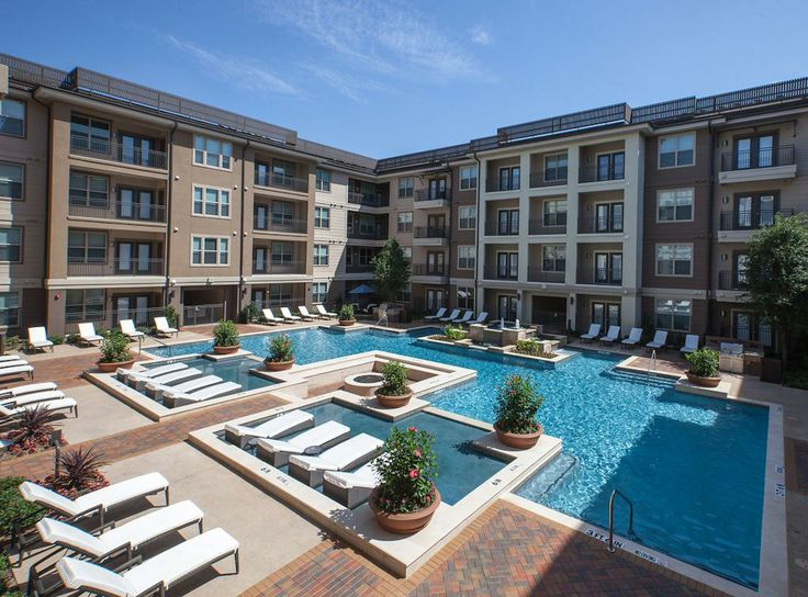 Pin by amli residential on dallas and fort worth luxury for Pool apartments