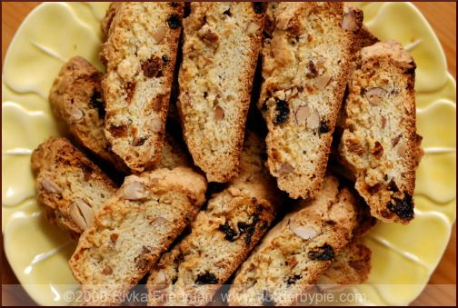 Cherry Almond Biscotti | Christmas Time in the Kitchen | Pinterest