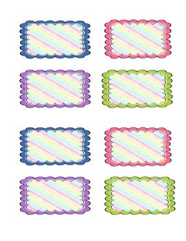 Cute divider tabs | Borders and Fonts | Pinterest