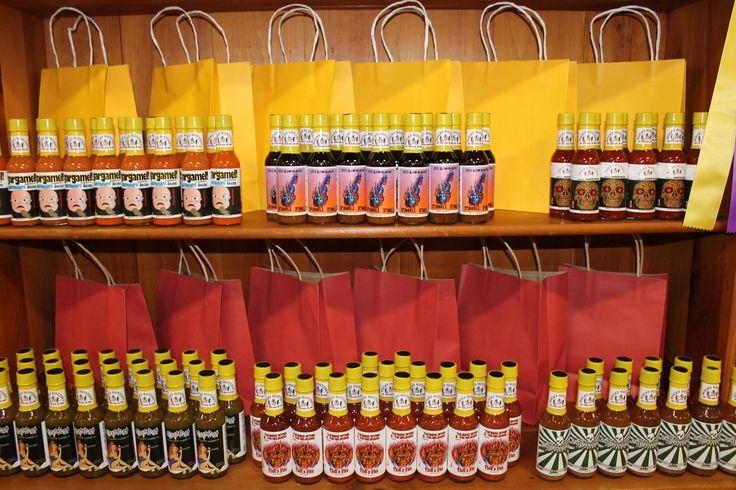 Poca's Hottest Sauces