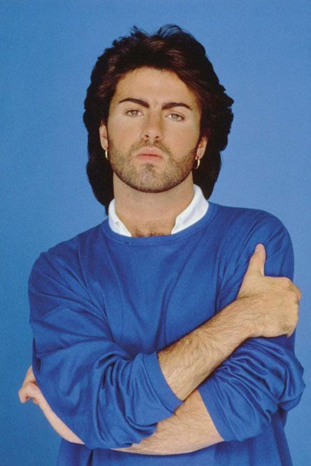 George Michael | Crushes - Then and Now | Pinterest George Michael