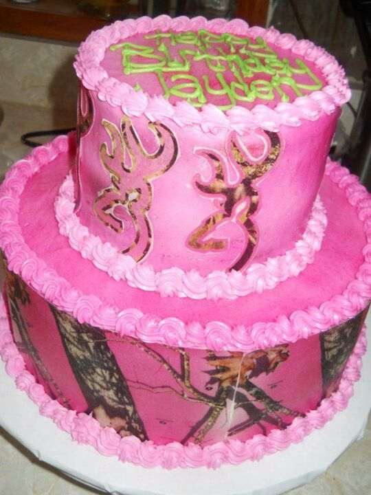 Pink Camo Cake Images : Pink Camo Cake All for me! Pinterest