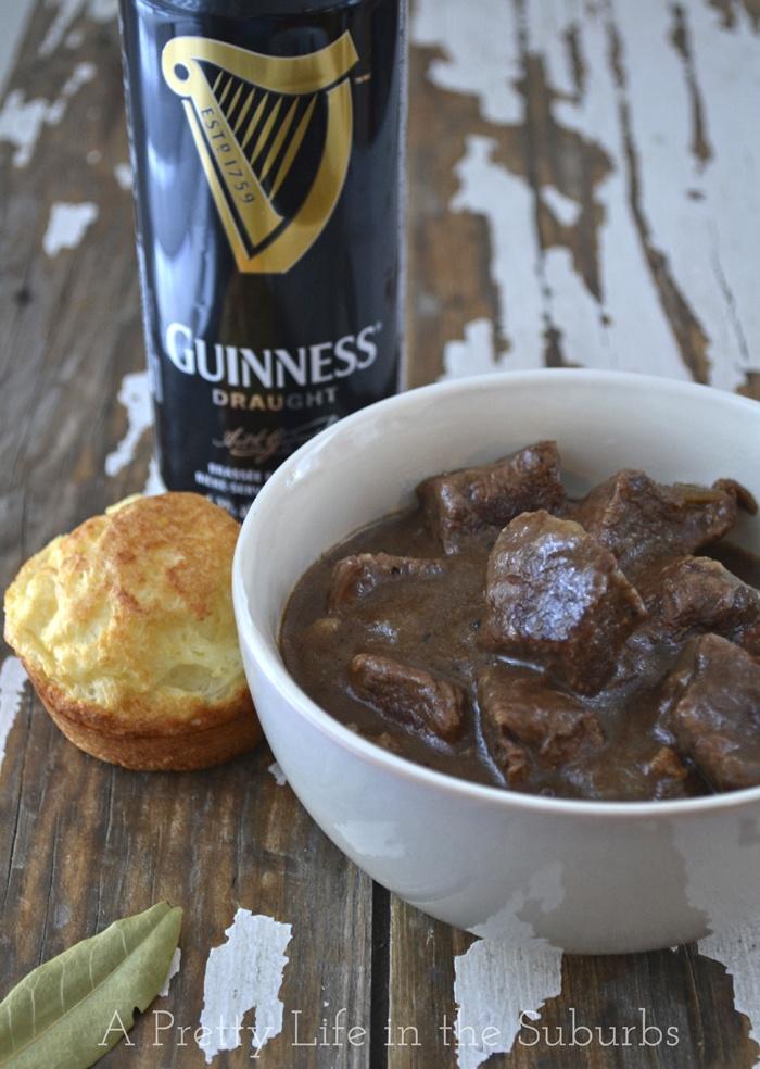 "Guinness Braised Beef Stew - added parsnips! ""Best stew ever"" was t..."