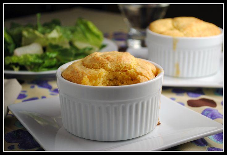 Chickpea pot pie, cornbread crust.