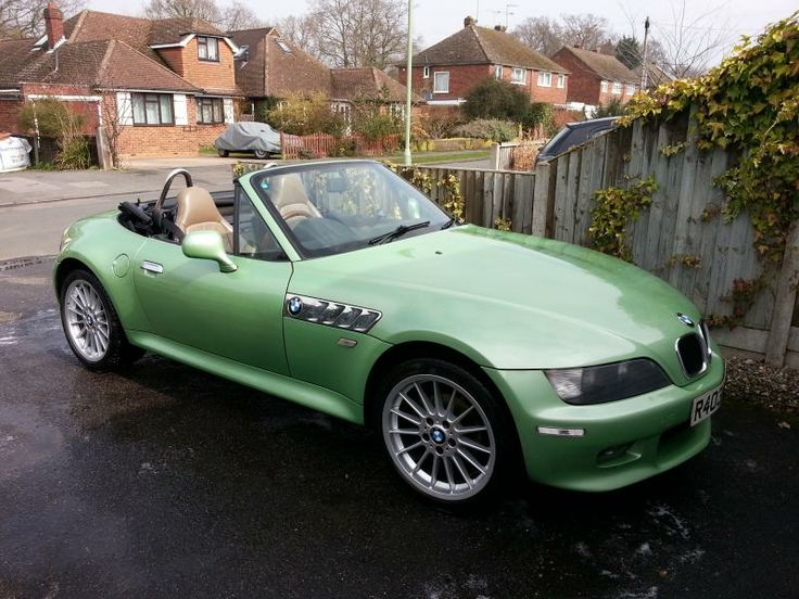Bmw Z4 Palmetto Green Green Colors We