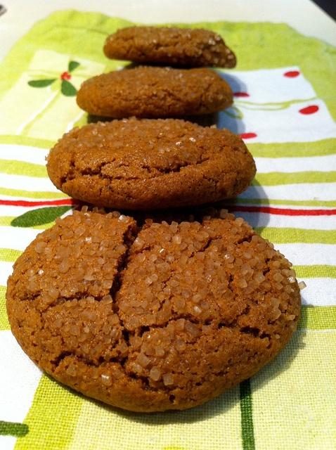 Spicy Molasses Cookies | Food - Not Quite Gourmet | Pinterest
