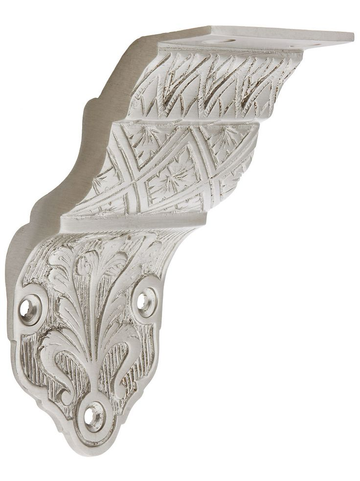 Best Ornate Victorian Cast Brass Handrail Bracket 400 x 300