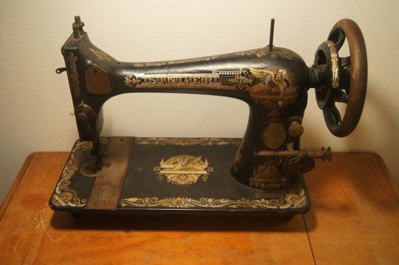 1901 singer sewing machine