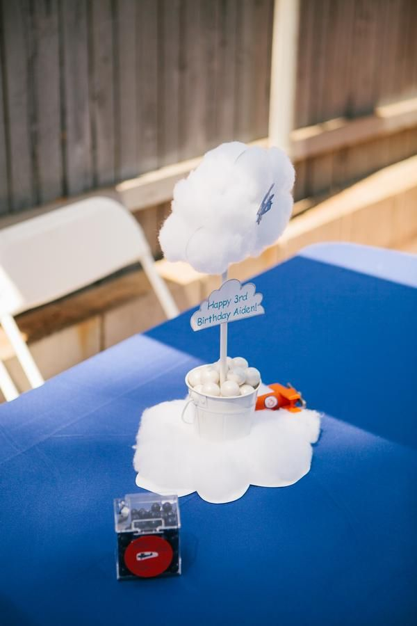 cloud centerpieces party ideas for the wee ones pinterest