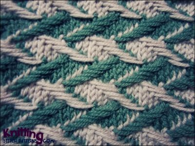 Slip Stitch Knitting Two Colors : Two Color Slip Stitch Knitting Pinterest