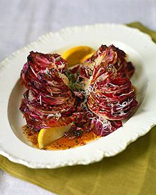 Grilled Radicchio and Fontina | foodie | Pinterest