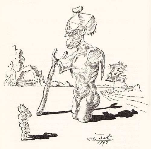 Essays of michel de montaigne illustrated by salvador dali 1947