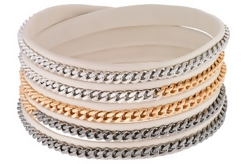 This Vita Fede wrap bracelet is one of our winning pins from the Summer Style Contest! Congrats @Stephanie Bettio!