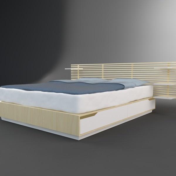Wickelkommode Ikea Leksvik Maße ~ IKEA Mandal  Sove  Pinterest